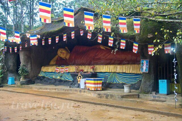 Шри Пада. Лежащий Будда