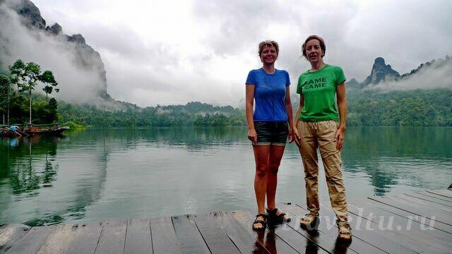 Национальный парк Као Сок. Озеро
