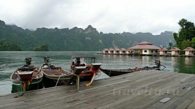 Пристань на озере Чео Лан