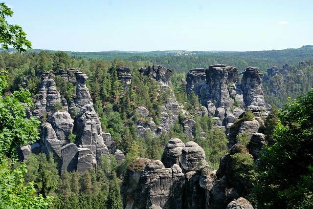 Саксонская Швейцария - национальный парк Бастай: как добраться из Берлина и Дрездена