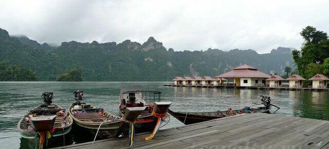 Таиланд озеро Чео Лан