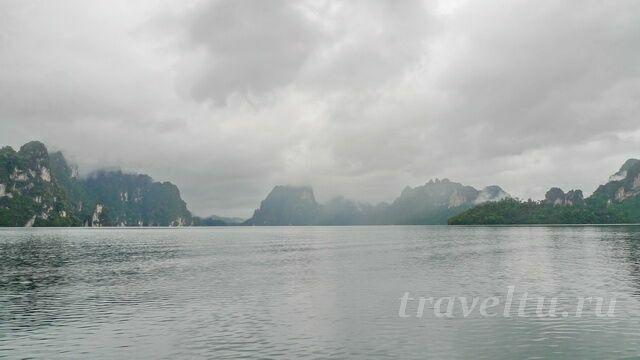 Туман над озером Чео Лан