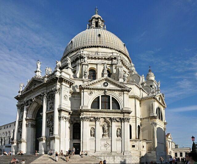 Санта Мария делла салюте в Венеции