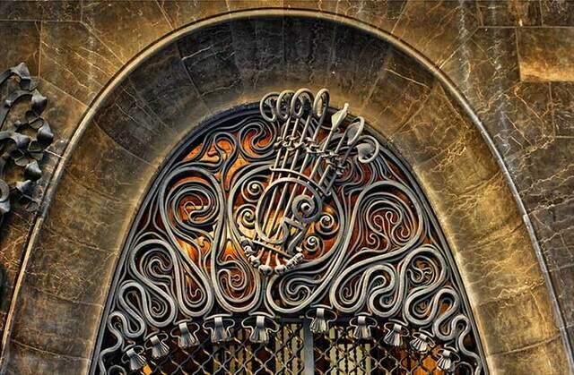 Ворота Дворец Гуэля