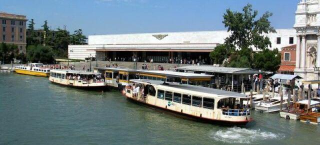 Железнодорожный Вокзал Санта-Лючия в Венеции
