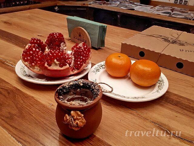 Ресторан Казбек десерт