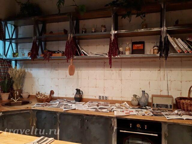 Ресторан Казбек кухня для гостей