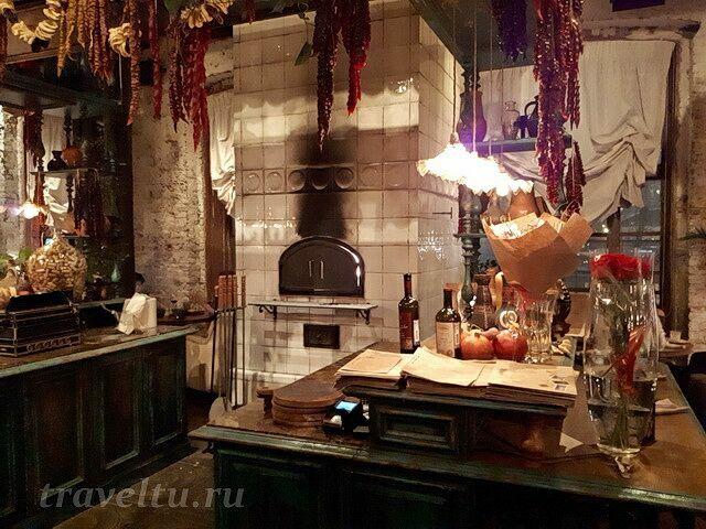 Ресторан Казбек печь