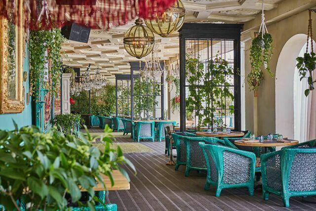 Ресторан Казбек веранда