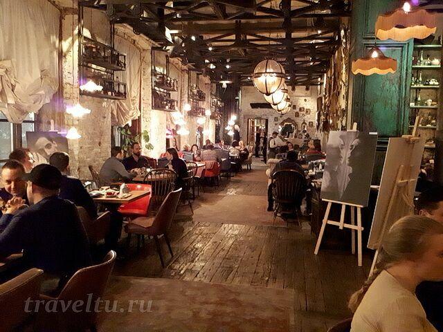 Ресторан Казбек зал